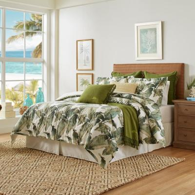 Fiesta Palms Cotton Comforter Set