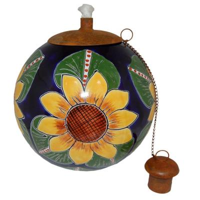 La Candela Sunflower Table Top Torch