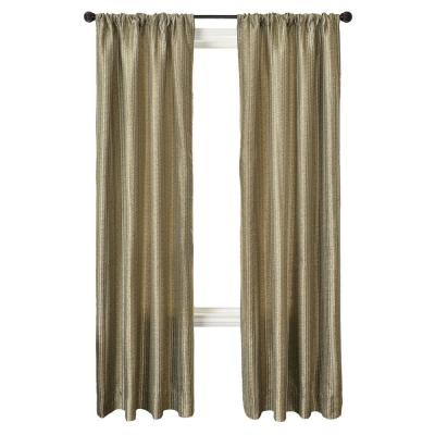 Home Decorators Collection Pewter Cavalli Batik Rod Pocket Curtain - 54 in.W x 84 in. L