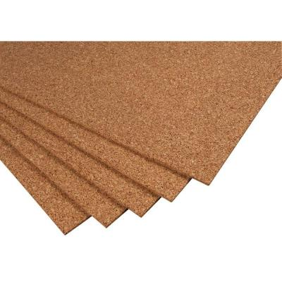 QEP 2 ft. x 3 ft. x 1/4 in. Cork Underlayment Sheet (30 sq. ft. / 5-Pack)