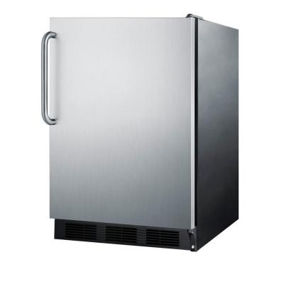 Summit Appliance 5.5 cu. ft. Mini Refrigerator in Stainless Steel