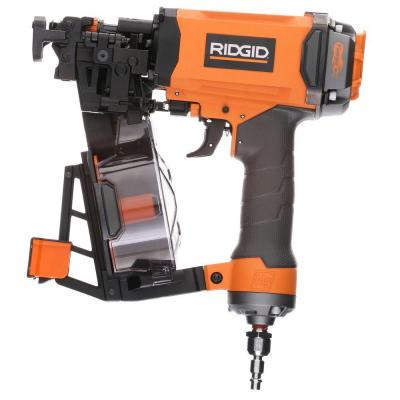 RIDGID 1-3/4 in. 15-Gauge Roofing Coil Nailer
