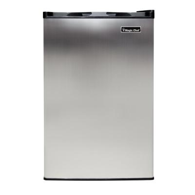 3.0 cu. ft. Upright Freezer in Stainless Steel