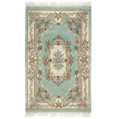 Home Decorators Collection Imperial Light Green 4 ft. x 6 ft. Area Rug