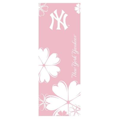 FANMATS New York Yankees 24 in. x 67.5 in. Yoga Mat-DISCONTINUED