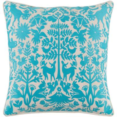 Larosa Geometric Polyester Throw Pillow