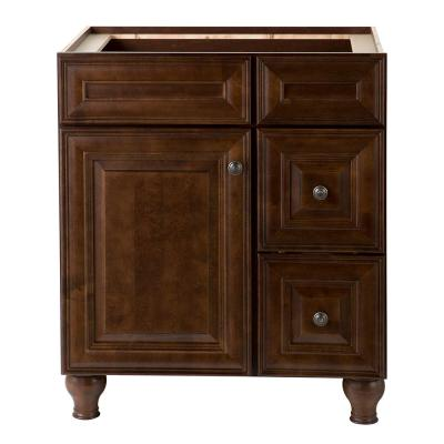 Home Decorators Collection Templin 30 in. Vanity Cabinet in Coffee