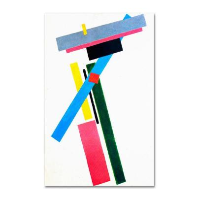 19 in. x 14 in. Suprematism Canvas Art