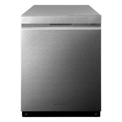 LG SIGNATURE Top Control Built-In Tall Tub Dishwasher in Textured Steel, ENERGY STAR