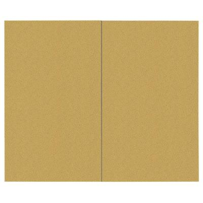SoftWall Finishing Systems 44 sq. ft. Straw Fabric Covered Top Kit Wall Panel