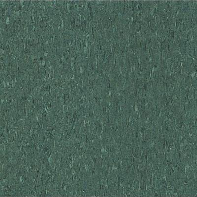 Imperial Texture VCT Basil Green Standard Excelon Commercial Vinyl Tile -