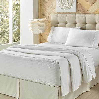 ROYAL FIT Solid 800-Thread Count Cotton Sheet Set