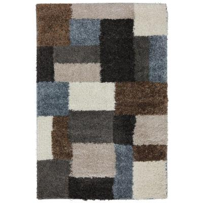 Franklin Gray Woven 5 ft. x 7 ft. Area Rug