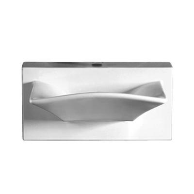 Whitehaus Collection Isabella Wall-Mounted Bathroom Sink in White ...