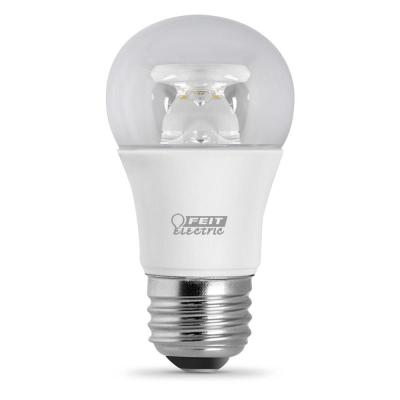 40W Equivalent Warm White A15 Dimmable LED Medium Base Light Bulb