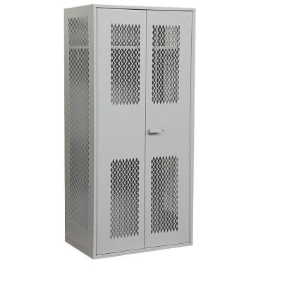 Salsbury Industries 7150 Series 36 in. W x 78 in. H x 24 in. D Military TA-50 Storage Cabinet in Grey