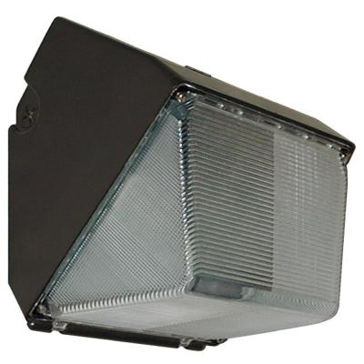 Radiance 23-Watt Bronze Integrated LED Outdoor Small Wall Pack Light with Polycarbonate Lens