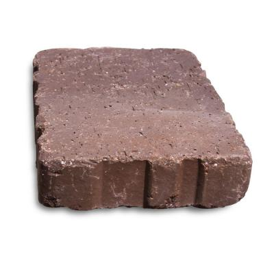 Relic 9 in. x 6 in. x 1.63 in. Brown Flash Clay Paver Product Photo