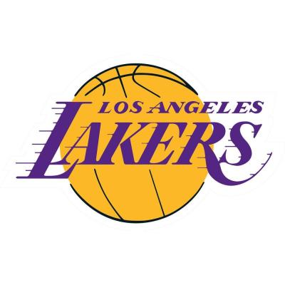 Fathead 52 in. x 32 in. Los Angeles Lakers Logo Wall Decal