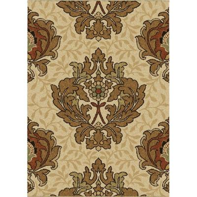 Orian Rugs Harrison Bisque 7 ft. 10 in. x 10 ft. 10 in. Area Rug