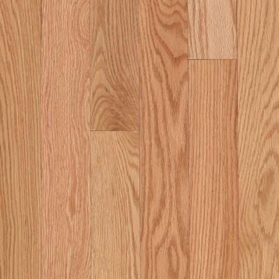 Raymore Red Oak Natural 3/4 in. Thick x 3-1/4 in. Wide x Random Length Solid Hardwood Flooring (17.6 sq. ft. / case) Product Photo
