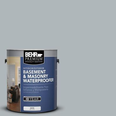BEHR Premium 1-gal. #BW-56 Silver Jade Basement and Masonry Waterproofer
