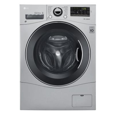 2.3 cu. ft. High Efficiency Front Load Washer in Silver, Energy