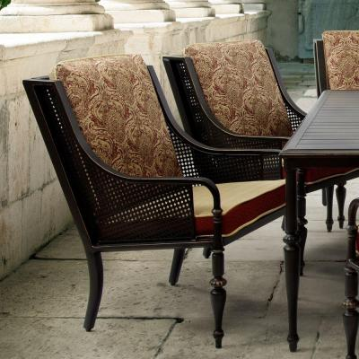 Sherborne Patio Dining Chairs with Venice Cushions (2-Pack)