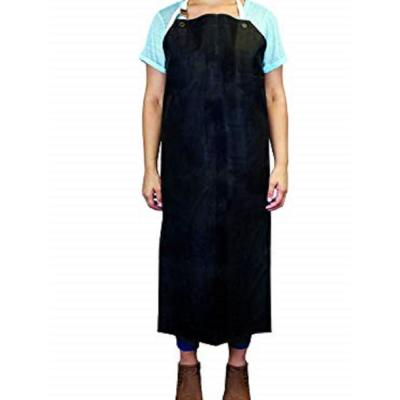 Heavy Duty Nitrile Industrial Bib Apron Chemical and Oil Resistant