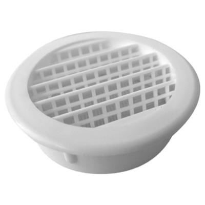 Speedi-Products 2 in. White Round Soffit Vent