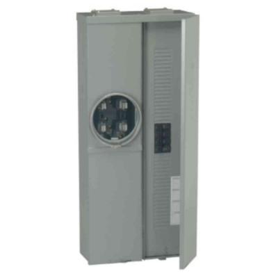 GE Power Mark Gold 200 Amp Main Breaker 20-Space 40-Circuit Overhead/Underground Combination Meter Socket Load Center