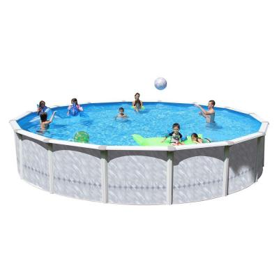 Taos 18 ft. x 52 in. Round Pool Package Product Photo