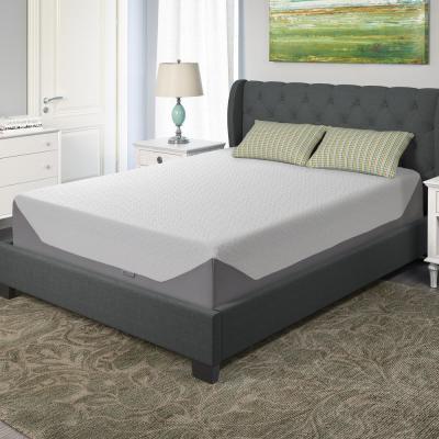 Sleep Collection 14in. Medium Gel Memory Foam Pillow Top Mattress