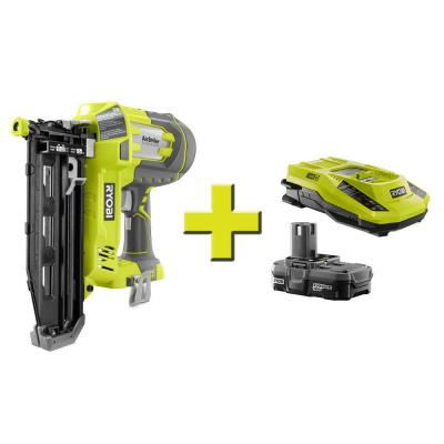 18-Volt ONE AirStrike +16-Gauge Cordless Straight Finish Naile