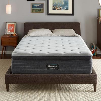 BRS900 15 in. Medium Hybrid Pillow Top XL Mattress