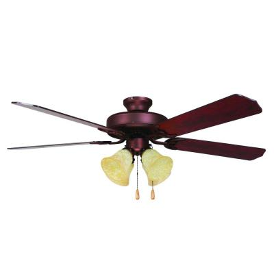 Westfield 52 in. Burnished Bronze Ceiling Fan with 4-Light