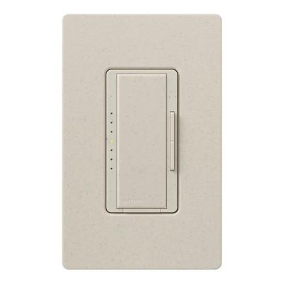 Maestro 600-Watt Multi-Location Electronic Low-Voltage Digital Dimmer - Limestone Product Photo