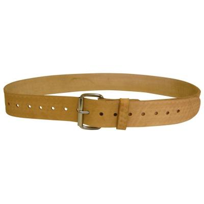 Bucket Boss Saddle Leather Work Belt 2 in. - XL