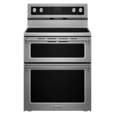30 in. 6.7 cu. ft. Double Oven Electric Range with Self-Cleaning