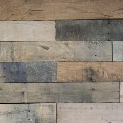 Deco Planks Picket Fence Sun Baked 1/2 in. x 4 in. Wide x 24 in. Length Solid Hardwood Wall Planks (10 sq. ft. / case) Product Photo