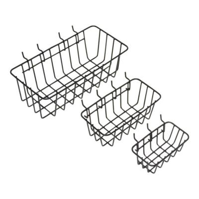 Everbilt Peggable Wire Baskets (3-Pack)