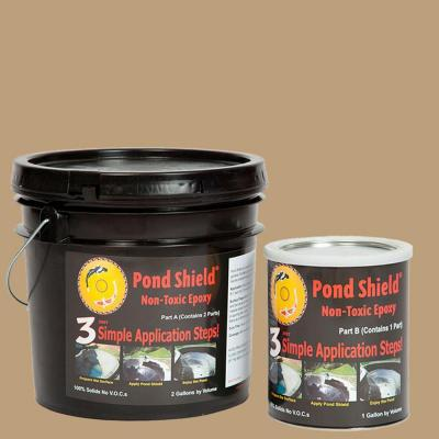 Pond Armor Pond Shield 3-gal. Tan Non Toxic Epoxy