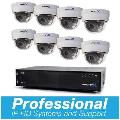 PRO 16-Channel HD+ IP Surveillance System with 8TB and (8) 4MP Autofocus Dome Cameras and Night Vision Product Photo
