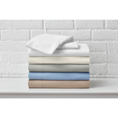 Brushed Soft Solid Microfiber Sheet Set