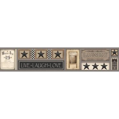 9 in. H Country Keepsakes Laundry Star Border Product Photo