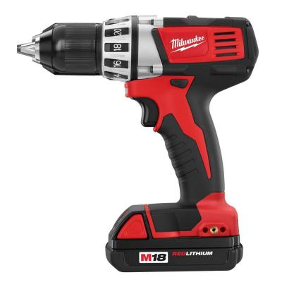 Milwaukee Reconditioned M18 18-Volt Lithium-Ion 1/2 in. Cordless Compact Drill Kit
