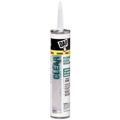10.1 oz. Clear Flexible Sealant (12-Pack)