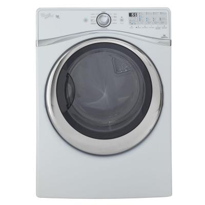 Whirlpool Duet 7.4 cu. ft. Gas Dryer with Steam in White-DISCONTINUED