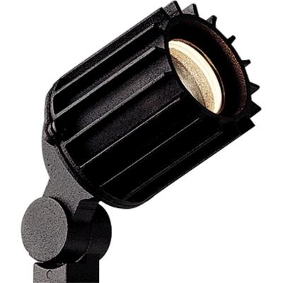 Low Voltage 50-watt Black Landscape Spotlight Product Photo