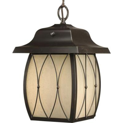 Progress Lighting Montreux Collection Antique Bronze 1-light Hanging Lantern-DISCONTINUED